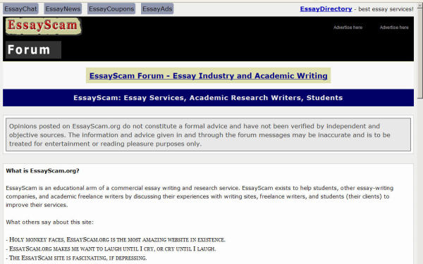 forum on essays Essay forums the ssrc has produced a number of online forums providing social science perspectives on topical issues the typical forum consists of.